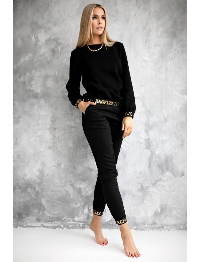 moteriškas laisvalaikio džemperis