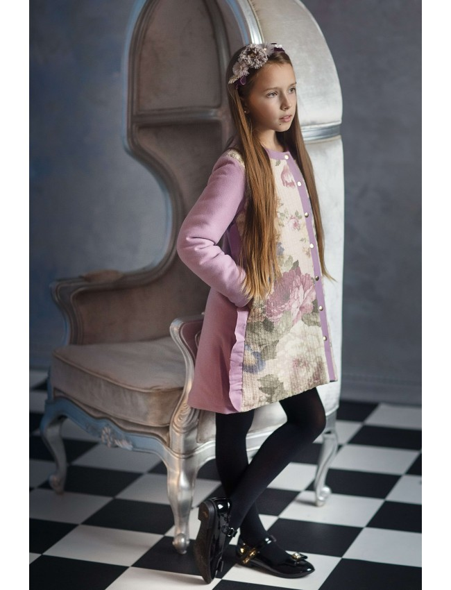 mergaitiškas paltukas