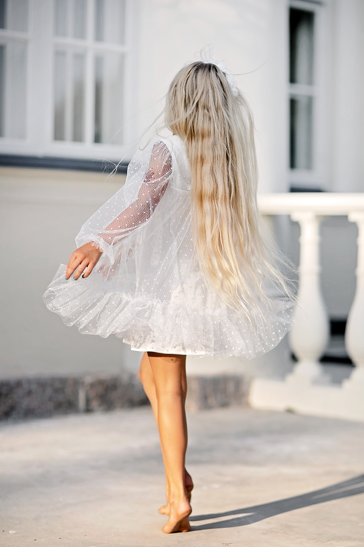 mergaitiška suknelė