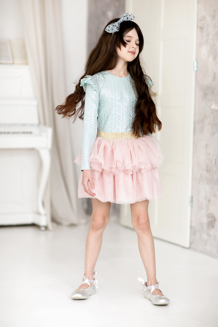 mergaitiškas sijonas